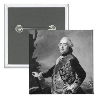 Príncipe Elector Federico II de Hesse-Kassel Pin Cuadrado