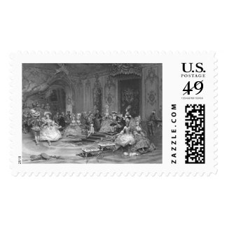 Príncipe envejecido 1877 sello