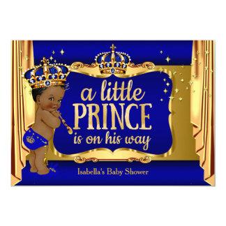 """Príncipe fiesta de bienvenida al bebé del muchacho invitación 5"""" x 7"""""""