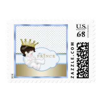 Príncipe fiesta de bienvenida al bebé sello postal