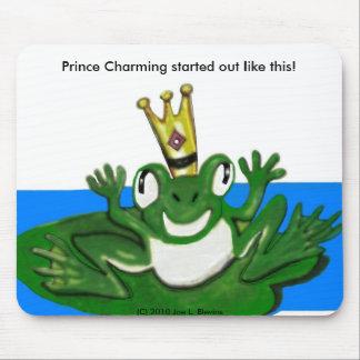 Príncipe Frog 2 Tapetes De Ratón