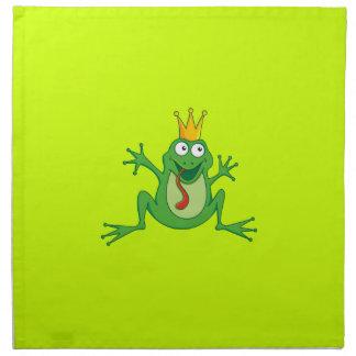 Príncipe Frog Servilletas De Papel
