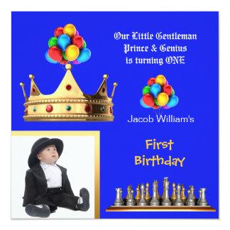 Príncipe Genius del caballero del primer Invitación 13,3 Cm X 13,3cm
