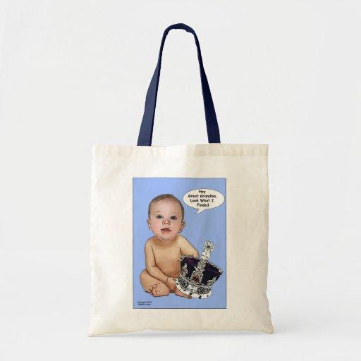 Príncipe George Cartoon Bags del bebé Bolsa De Mano