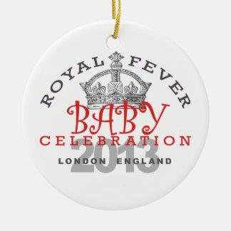 Príncipe George - celebración real Ornatos