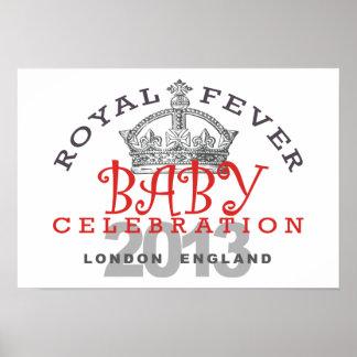 Príncipe George - celebración real Poster