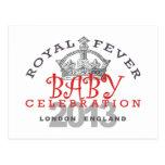 Príncipe George - celebración real Tarjeta Postal