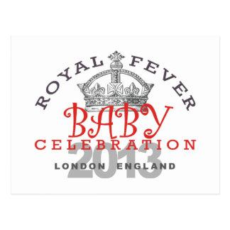 Príncipe George - celebración real Postal