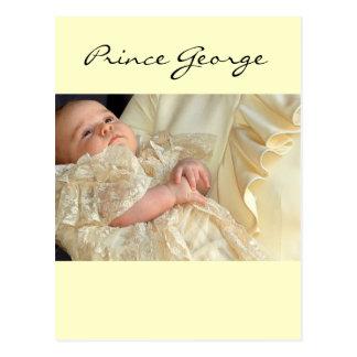 Príncipe George Christening Postal