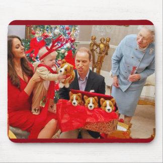 Príncipe George Christmas de Kate Middleton Alfombrilla De Ratón
