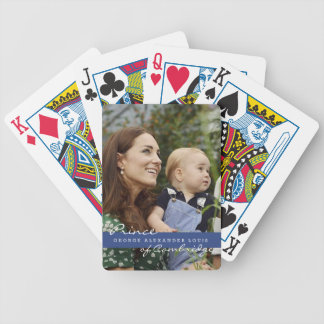 Príncipe George de Kate Middleton Baraja De Cartas
