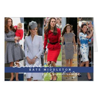 Príncipe George de Kate Middleton Felicitación