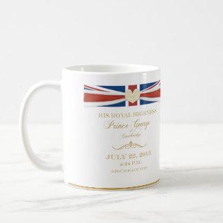 Príncipe George de la taza del recuerdo de Cambrid