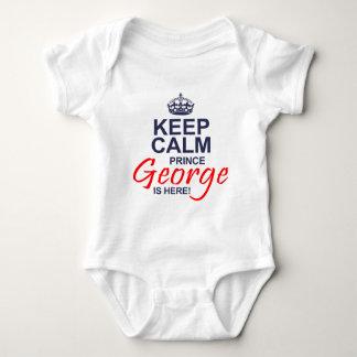 Príncipe George está aquí Body Para Bebé
