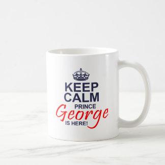 Príncipe George está aquí Taza