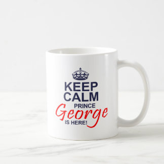 Príncipe George está aquí Taza De Café