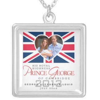 Príncipe George - Guillermo y Kate Pendientes