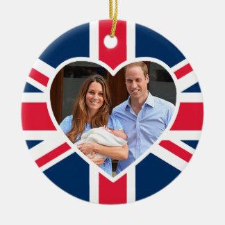 Príncipe George - Guillermo y Kate Ornamento De Reyes Magos