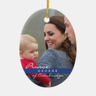 Príncipe George - Guillermo y Kate Ornamentos De Reyes Magos