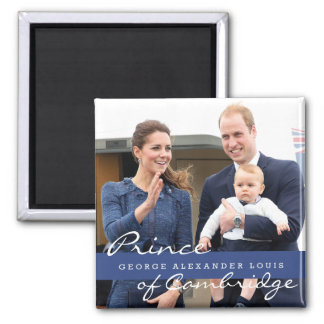 Príncipe George - Guillermo y Kate Imán Para Frigorifico