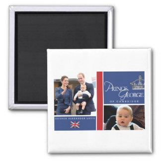 Príncipe George - Guillermo y Kate Imanes De Nevera