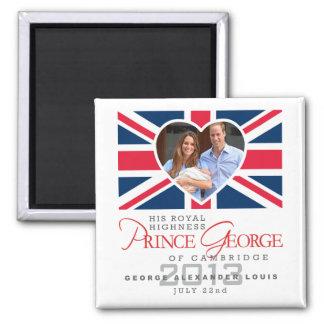 Príncipe George - Guillermo y Kate Imanes Para Frigoríficos