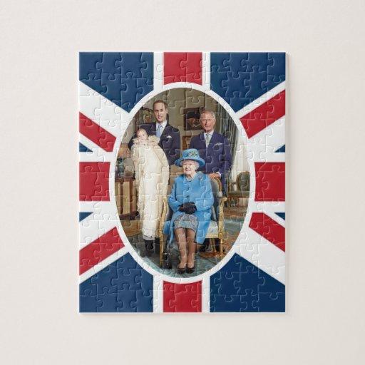 Príncipe George - Guillermo y Kate Puzzles Con Fotos