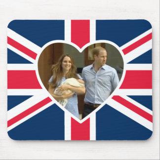 Príncipe George - Guillermo y Kate Tapetes De Ratones