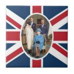 Príncipe George - Guillermo y Kate Tejas Ceramicas
