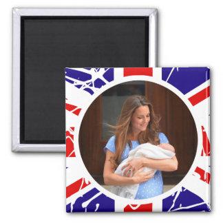 Príncipe George Royal Baby Iman Para Frigorífico