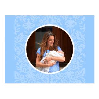 Príncipe George Royal Baby Tarjetas Postales