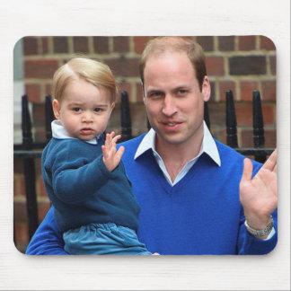 Príncipe George y príncipe Guillermo Alfombrilla De Ratón