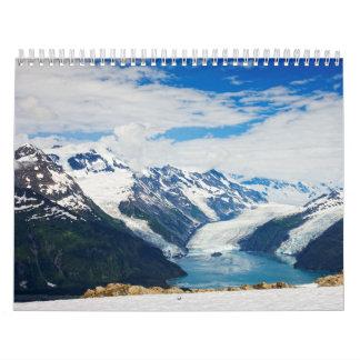 Príncipe Guillermo Sound Alaska Calendarios