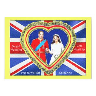 Príncipe Guillermo y boda real de Catherine Comunicado Personalizado