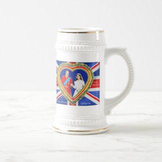 Príncipe Guillermo y boda real de Catherine Tazas De Café