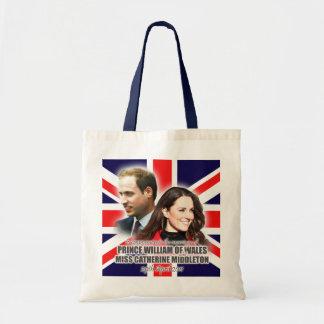 Príncipe Guillermo y bolso de Kate Middleton Bolsa Tela Barata