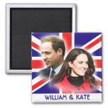 Príncipe Guillermo y imán de Kate Middleton