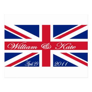 Príncipe Guillermo y Kate Tarjetas Postales