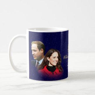 Príncipe Guillermo y taza de Catherine