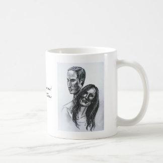 Príncipe Guillermo y taza de Catherine Middleton