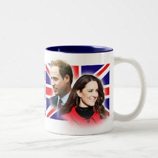 Príncipe Guillermo y taza de Kate Middleton