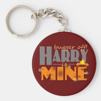 Príncipe Harry es el mío Llavero Redondo Tipo Pin