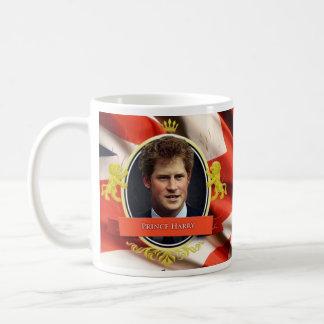 Príncipe Harry Historical Mug Taza Básica Blanca
