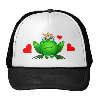 Príncipe Hearts de la rana Gorras De Camionero