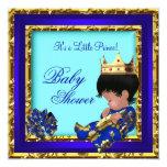 Príncipe heredero del muchacho del oro del azul comunicado