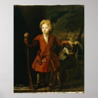 Príncipe heredero Frederick Guillermo I Poster
