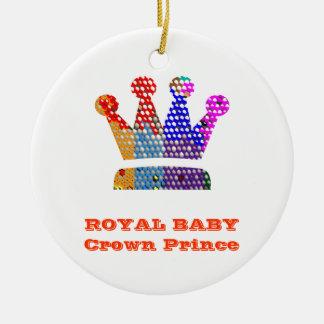 Príncipe heredero real del BEBÉ Ornato