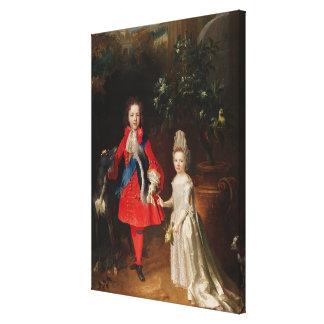 Príncipe James Francisco Edward Estuardo Impresión En Lona Estirada