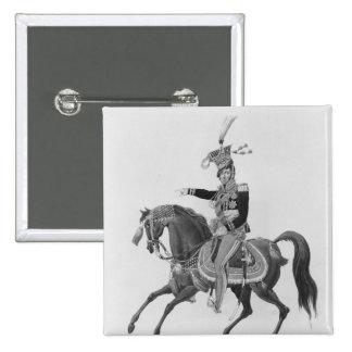 Príncipe José Antonio Poniatowski Pin Cuadrada 5 Cm
