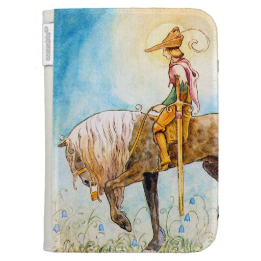 Príncipe joven en un caballo